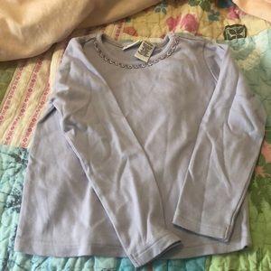 👶🏼Gymboree Lavender Long-Sleeve Shirt
